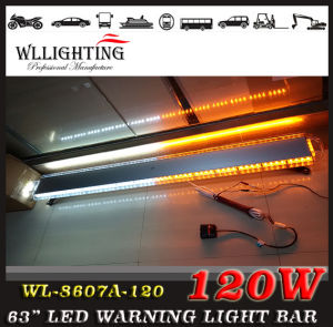 120 LED 65′′ Traffic Advising Emergency Strobe Lightbar pictures & photos