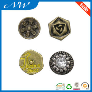 Factory Price Good Quality Metal Alloy Jeans Rivet