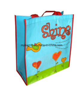 Heavy Packing BOPP Laminated PP Non Woven Promotion Bag pictures & photos