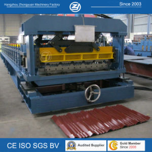 Roofing Step Tile Roll Forming Machine pictures & photos