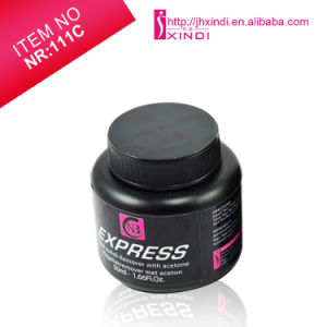 Nr111c 50ml DIP&Twist Express Nail Polish Remover with Sponge