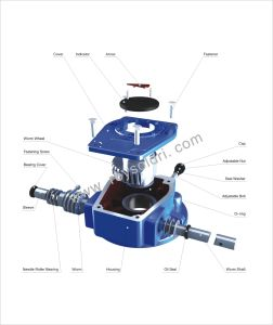 Single Stage Worm Gear Operator for Valve pictures & photos