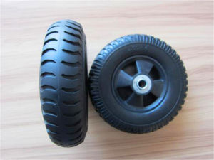 Rubber Wheel PU Foam Small Solid Wheels Factory pictures & photos