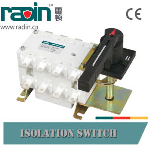 125A-1600A Disconnector Load Break Isolation Switch Without Fuse pictures & photos