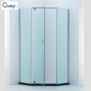 Diamond Shap Shower Cabin/Shower Enclosure with 304#Stainless Steel Hardware (A-CVP050) pictures & photos