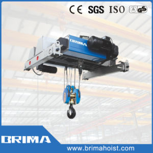 Brima High Quality Europe Type 10t Electric Wire Rope Hoist with Abm pictures & photos