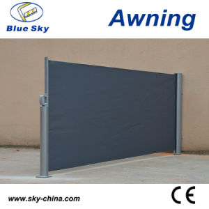 Indoor Aluminum Retractable Polyester Screen Awning pictures & photos