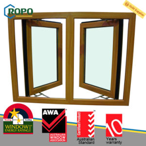 UPVC Plastic Colored Open Outside Glass Window for House pictures & photos