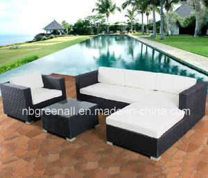Hot Selling Cast Aluminum Frame Wicker Leisure Garden Furniture pictures & photos