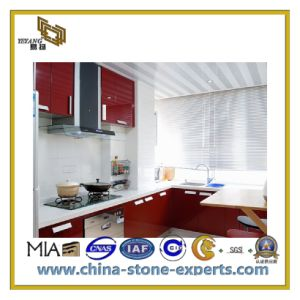 Natural Polished Decorative White Artificial Stone Quartz for Countertop (YQC) pictures & photos