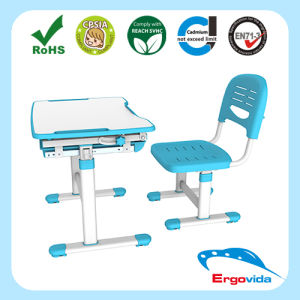 Safety Design Single Desktop Study Table for Baby