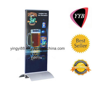 Custom Acrylic Restaurant Menu Holder with Aluminum Base (YYB-848) pictures & photos