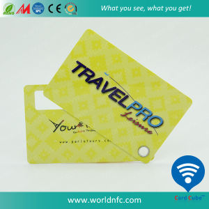 Printed Plastic Airline Luggage Tag pictures & photos