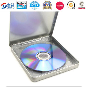 Rectangle Shaped Metal CD Storage Box for CD Packaging pictures & photos