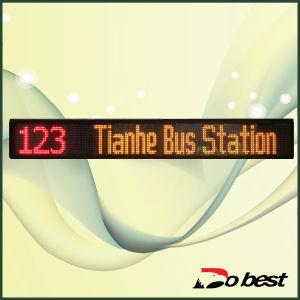 Bus LED Destination Message Sign pictures & photos