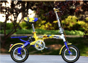 Factory New Style 14 Inch Children Folding Bike pictures & photos
