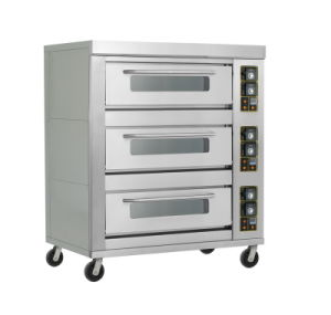 Triple-Layer Nine-Tray Gas Commercial Oven pictures & photos