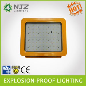 Atex and Iecex Standard Explosion Protected Light Fittings Exproof Lighting Explosion Proof Lamp 20/40/50/60/80/100/120/150W pictures & photos