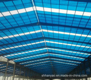 Shanghai Supplier Translucent PVC Roof Tile for Factory pictures & photos