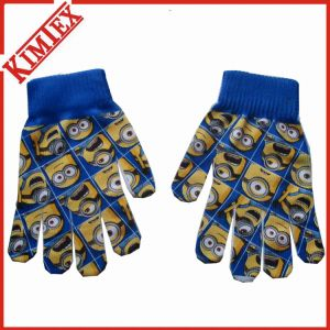 2016 Hot Sales Nice Knitted Magic Glove with Sublimation Printing pictures & photos