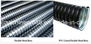 PVC PE Coated Flexible Metal Hose Conduit Pipe Making Machine pictures & photos