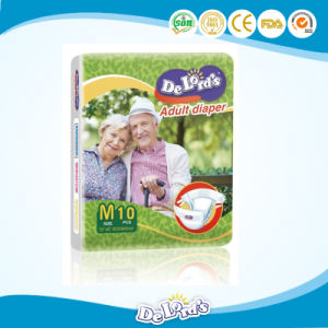 Best Selling High Absorbency Quality Assured Disposable Adult Diaper pictures & photos