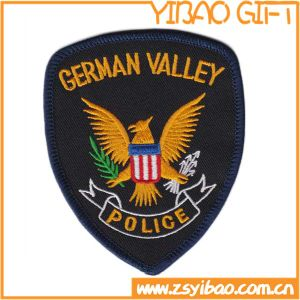Custom Embroidered Police Patches with Iron on Back (YB-e-037) pictures & photos