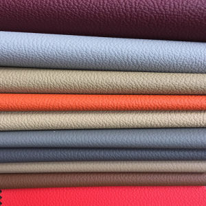 High Quality PVC Leather for Car Seat (HS-PVC1601) pictures & photos