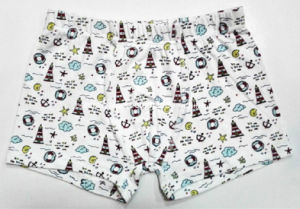 Allovern Printed Tunnel Waistband New Style Boy Boxer Brief pictures & photos