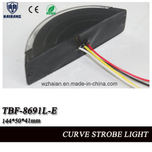 Motorcycle Warning Headlight in Curve Shell with SMD LEDs, Muilt Voltage (TBF-8691L-E) pictures & photos