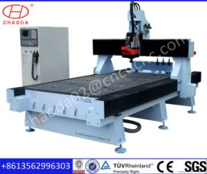 Plywood CNC Cutting Machine with Auto Tool Changer pictures & photos