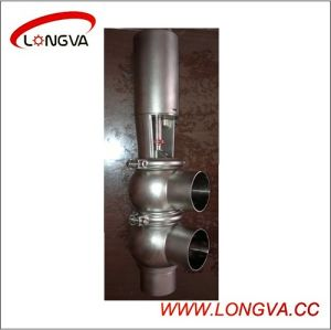 Ss304 Sanitary Pneumatic Welded Reversing Valve pictures & photos