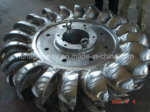 Hdyro (Water) Pelton Stainless Steel Runner/Hydropower / Hydroturbine pictures & photos