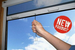 Matt Finished White Powder Coated Insect Window Screen pictures & photos