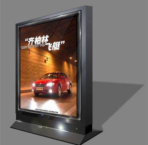 Car Exhibition Advertising Aluminum Acrylic Sign Board pictures & photos