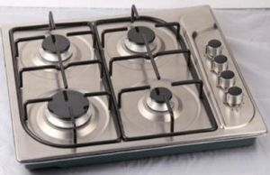 4 Burner Cheap Price Stainless Steel Built-in Gas Cooker, Gas Stove pictures & photos
