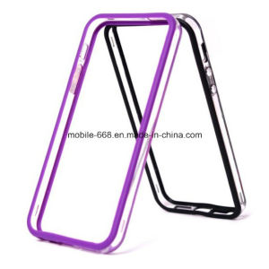 New Clear Bumper Frame Silicone TPU Case for iPhone 5 5s 5c pictures & photos