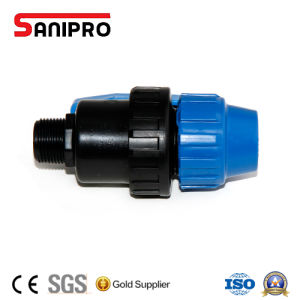 Male PP Ball Valve Compression pictures & photos