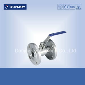 Dn25-Dn100 Direct-Way Manual Ball Valve with Flange Connection pictures & photos