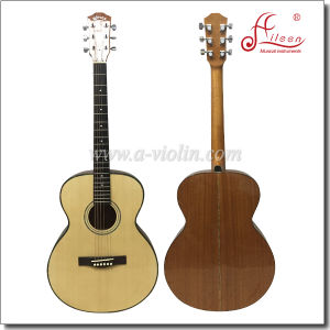 Winzz® 40 Inch Spruce Plywood Top  Folk Guitar Acoustic Guitar (AF48H) pictures & photos