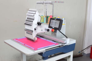 Cross Stitch Single Head Embroidery Machine Wy1201CS pictures & photos