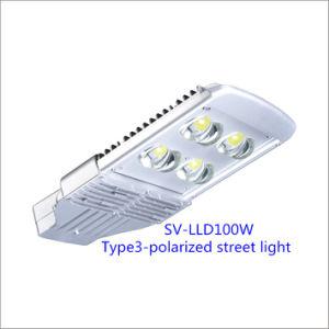 100W Bridgelux Chip LED Street Lamp with Inventronics Driver (Polarized)