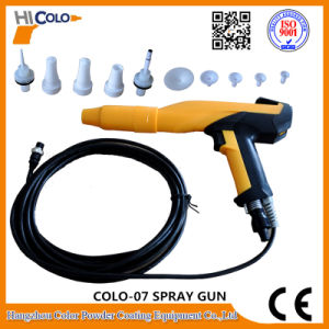 Box Feed Vibrating Electrostatic Powder Coating Gun Equipment pictures & photos