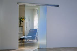 Tempered Glass Interior Sliding Door with AS/NZS2208: 1996, BS6206, En12150 Certificate pictures & photos