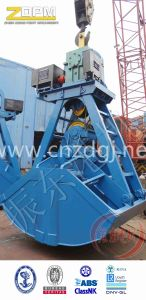 Single Rope Motor Electric Hydraulic Clamshell Grab for Bulk Cargo on Sale pictures & photos