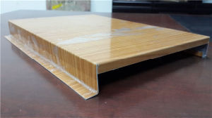Wood Grain Aluminum Ceiling Board pictures & photos