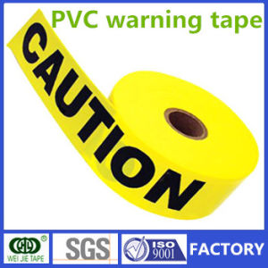 Single or Double Colors PVC Warning Tape Manufacturer pictures & photos