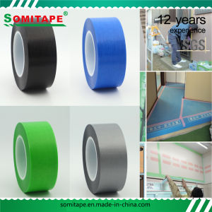 Sh319 No Residue Black Masking Tape for Surfaces Protection Somitape pictures & photos