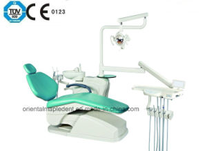 Ce Approved Dental Chair Unit of Dentist Stool (OM-DC208B) pictures & photos