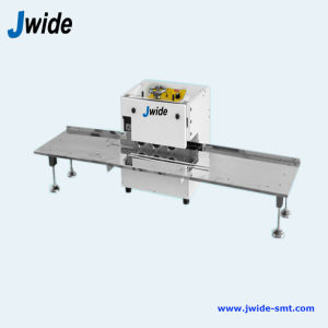 Thick Aluminum LED PCB Cutter Machine with 3 Cutting Heads pictures & photos